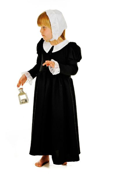 Children's Girls Historical Victorian Florence Nightingale Fancy Dress Up Costume